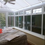 Conservatory before...