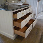 Kitchen (3) island unit drawers