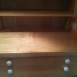 Replacement solid maple worktop
