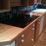 Maple worktop refurb